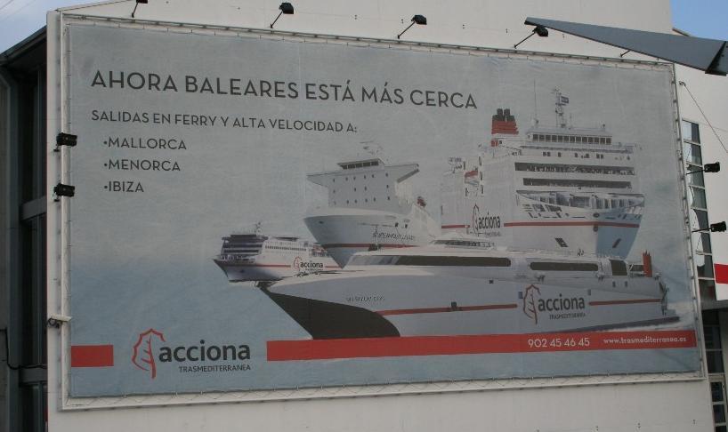 Mit der Fähre nach Mallorca