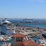 Kreuzfahrtschiffe - Kreuzfahrtterminal Palma de Mallorca