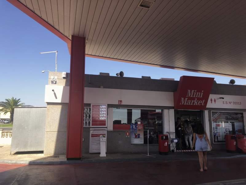Cepsa Tankstelle Llucmajor Mallorca