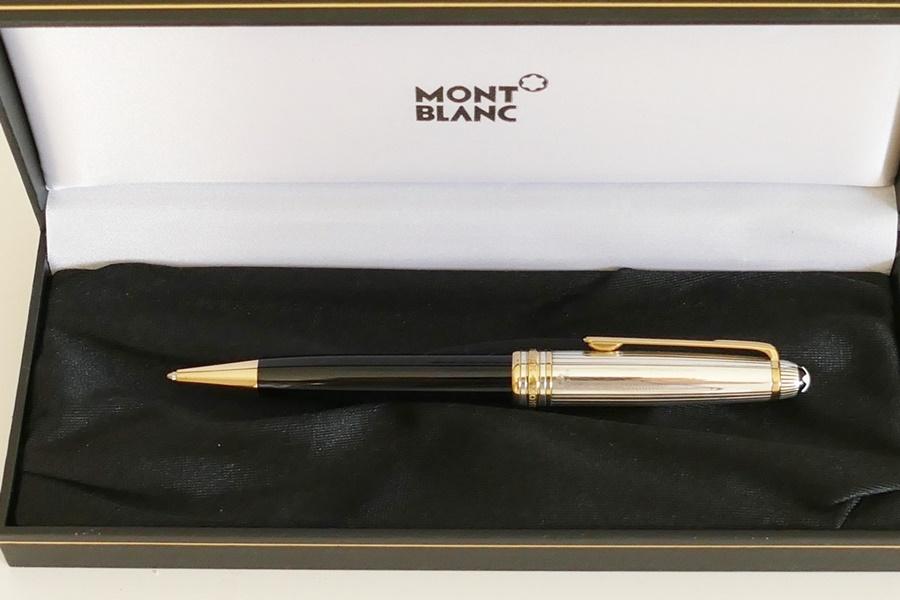 MONTCHRONO Montblanc Doue Silver 164 Kugelschreiber